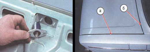 крышка багажника автомобиль ваз 2106