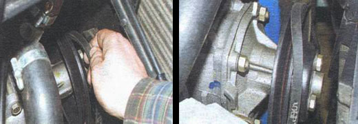 замена ремня генератора автомобиля ваз 2106