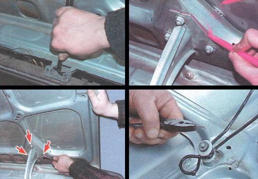 ремонт капота автомобиля ваз 2106