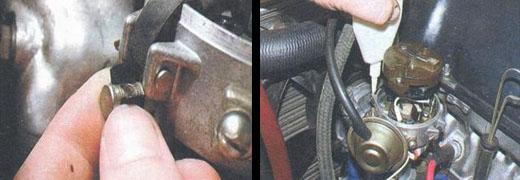 смазываем распределитель зажигания на автомобиле ваз 2106