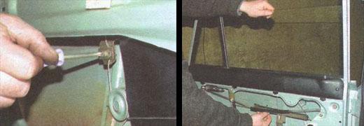 замена стеклоподъемников задних дверей автомобиля ваз 2106