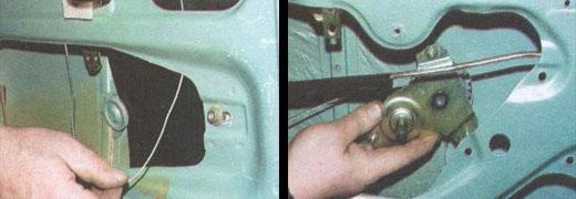 механизмы стеклоподъемников задних дверей ваз 2106