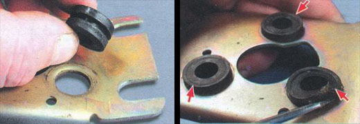 замена тяг привода стеклоочистителей на автомобиле ваз 2106