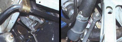 замена генератора ваз 2106 снятие и установка