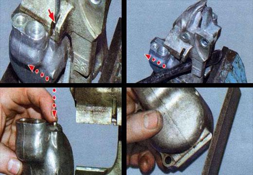 замена рабочих тормозных цилиндров ваз 2106