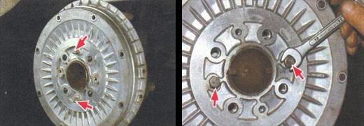 замена тормозного барабана ваз 2106