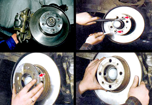 Замена тормозных дисков ваз 2106