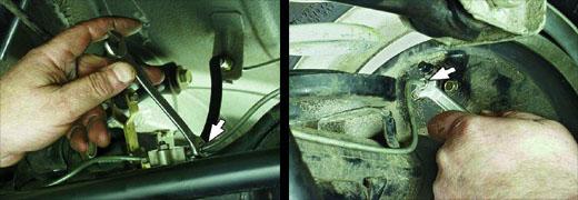 замена трубопроводов тормозов ваз 2106