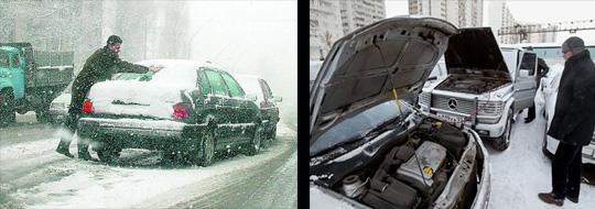 несколько советов о том, как подготовить свой автомобиль к эксплуатации в зимний период