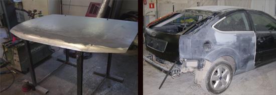 как работать с кузовным припоем при ремонте ваз 2106