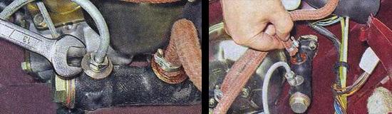 снятие главного цилиндра сцепления ваз 2107