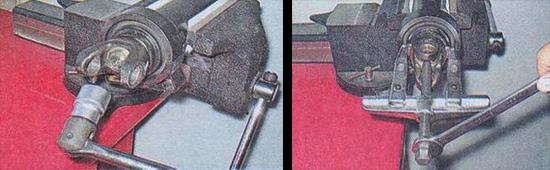 промежуточная опора карданного вала ваз 2107