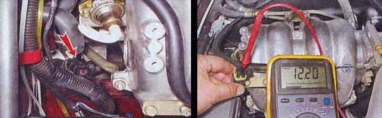 проверка датчика концентрации кислорода ваз 2107