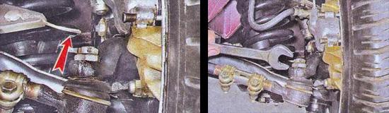 проверка рулевой системы ваз 2107
