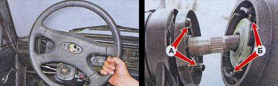 замена рулевого колеса на автомобиле ваз 2107