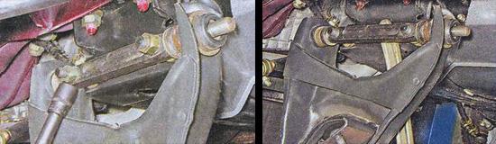 снятие нижнего рычага передней подвески ваз 2107