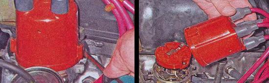 замена крышки распределителя зажигания ваз 2107