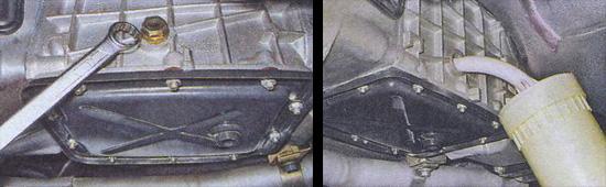 как поменять масло в коробке переключения передач на автомобиле ваз 2107