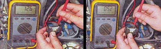 проверка датчика массового расхода воздуха ваз 2107