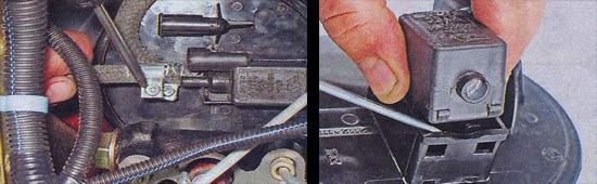 проверка клапана продувки ваз 2107