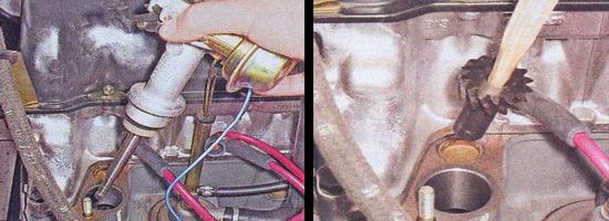 шестерня привода масляного насоса ваз 2107
