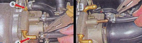корпус дроссельной заслонки ваз 2107