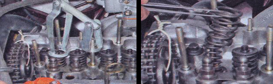 замена маслосъемных колпачков ваз 2107