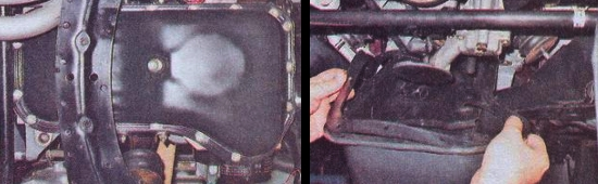 Замена поддона картера двигателя на автомобиле ваз 2105