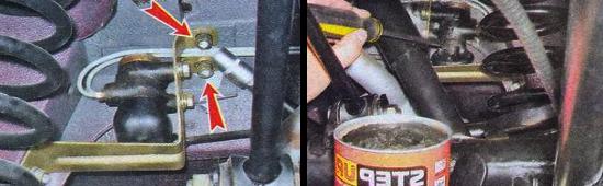 Как проверить регулятор давления тормозов на автомобиле ваз 2105