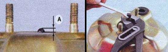 Регулировка толкателя усилителя тормозов ваз 2105