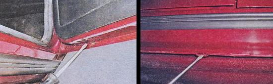 Чистка дренажных отверстий кузова ваз 2105