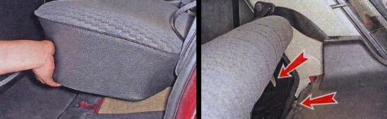 Как снять заднее сиденье на автомобиле ваз 2105
