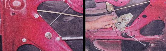 Как снять стеклоподъемник задней двери на автомобиле ваз 2105