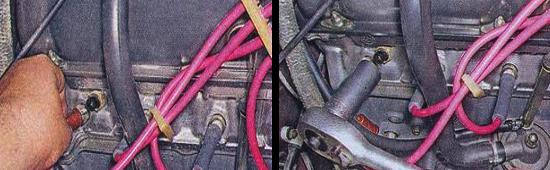 Замена датчика температуры охлаждающей жидкости на автомобиле ваз 2105