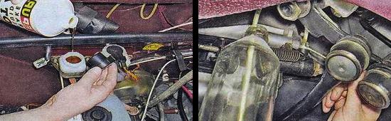 Как прокачать сцепление на автомобиле ваз 2105, замена жидкости