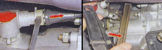 Замена привода спидометра на автомобиле ваз 2105