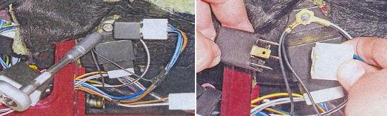 Замена реле зажигания, аварийной сигнализации, указателей поворотов Ваз 2105