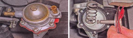 Замена диафрагмы топливного насоса Ваз 2105