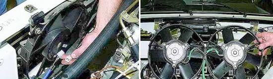 Электродвигатель вентилятора охлаждения радиатора Нива 2121 и 2131