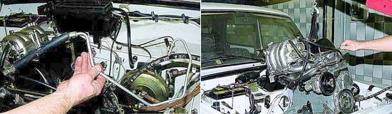 Как снять двигатель Ваз 2121 и 2131 Нива