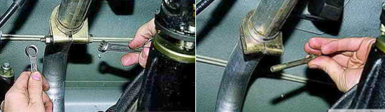 Замена основного глушителя Нива 2121 и 2131