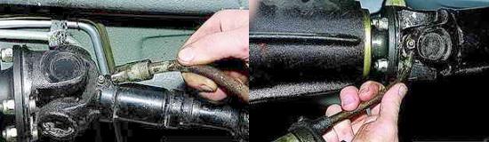 Смазка карданного вала Нива 2121 и 2131