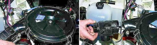 Терморегулятор воздушного фильтра Нива 2121 и 2131