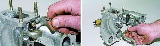 Замена трубки рециркуляции отработавших газов Ваз 2121 и 2131 Нива