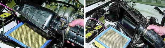 Замена фильтрующего элемента воздушного фильтра Нива 2121 и 2131 инжекторный двигатель
