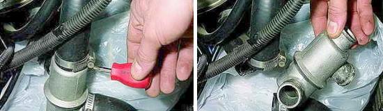 Снятие и проверка термостата Нива 2121 и 2131