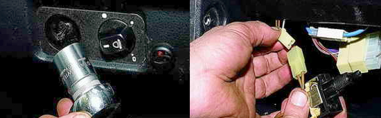 Замена выключателя освещения приборов Ваз 2121 Нива 2131