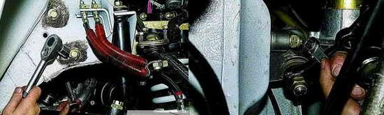 Как снять кронштейн рулевого маятникового рычага Ваз 2121 и Нива 2131