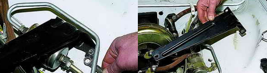 Как снять трубу и опору запасного колеса Ваз 2121 Нива 2131