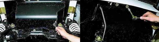 Как снять защиту поддона картера двигателя Ваз 2121 Нива 2131